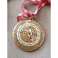 Медаль по стрельбе из лука городского спорткомитета г. Душанбе.