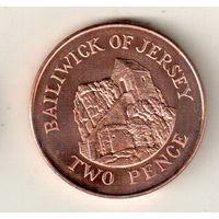 Джерси 2 пенс 2008