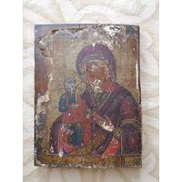 Икона Пресвятая Богородица Троеручица. Ветка.