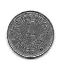 РЕСПУБЛИКА НИКАРАГУА. 1 КОРДОБА 1997