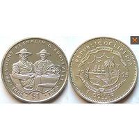 Либерия доллар 1995 ФРАНКЛИН РУЗВЕЛЬТ АЦ UNC