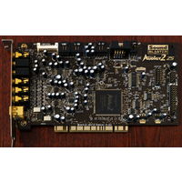 Звуковая карта Creative SoundBlaster Audigy 2 ZS 7.1, 24bit, PCI (SB0350)