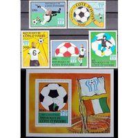 Кот-д'Ивуар  футбол 1978г.