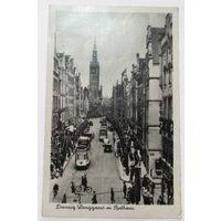 Гданьск, цент, ул. Длуга, Ратуша - 1943 год