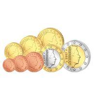 Люксембург годовой набор евро 2017 г UNC