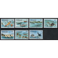 Гренада и Гренадины / Фестиваль на Воде 1977 / Восточное Побережье  / Серия 7 марок