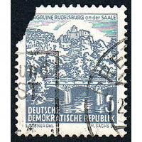 140: Германия (ГДР), почтовая марка, 1961 год