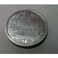 Французская Океания 50 сантим 1949