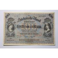 Германия 100 марок 1911 год