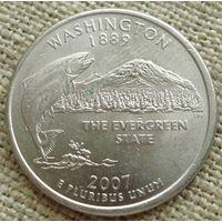 25 центов 2007 США - Вашингтон