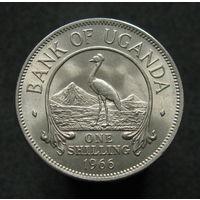 Уганда 1 шиллинг 1966 KM# 5