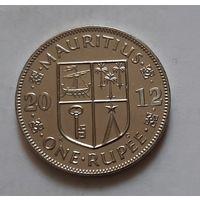 1 рупия 2012 г. Маврикий