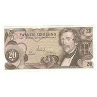 Австрия 1967 г. 20 шиллингов