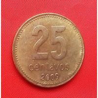 05-10 Аргентина, 25 сентаво 2009 г.