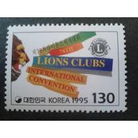 Корея Южная 1995 эмблема межд. клуба