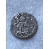 Двойной денарий 1579   - с 1 рубля.