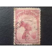 Конго 1931 колония Бельгии туземка