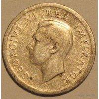 Южная Африка, 6 пенсов 1942, серебро