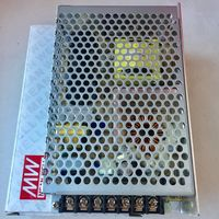 Блок питания 24В, 4.5А, 100Вт Источник Mean Well. 24 Вольт. 4.5 Ампер, 102 Вт. RS-100-24