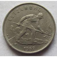 Люксембург 1 франк 1952