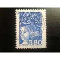 Франция 1997 стандарт 3,80