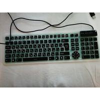 Силиконовая клавиатура (для подключения к PC, планшету, телефону)