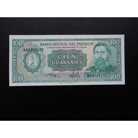 Парагвай 100 гуарани. 1982 г.