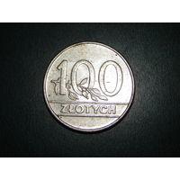 Польша 100 злотых 1990