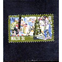 Мальта.Ми-639.Выпуск валюты. Серия: История мальтийского промышленности.1981.