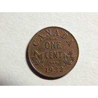 Канада 1 цент 1932г