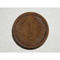 Венгрия 1 филлер 1894г