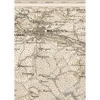 Старинная карта вся Беларусь GPS