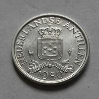 1 цент, Нидерландские Антильские острова, (Антиллы) 1980 г.