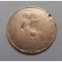 1 пенни, Великобритания 1918 г., Георг V