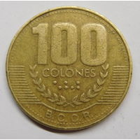 Коста-Рика 100 колон 1999 г