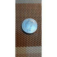 Бельгия 1 франк 1866 Des Belges