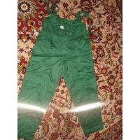 Спецодежда, штаны ватние зимние мужские с подтяжками, р 52-54 рост 170-178