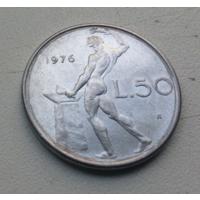 50 лир 1976 г. Италия