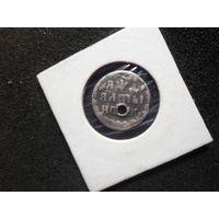 Алтын 1704 г. Петр 1 Российская Империя редкая монета разумный торг