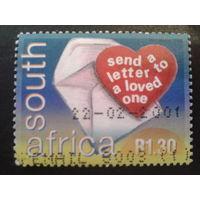 ЮАР 2000 неделя письма