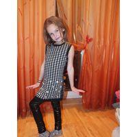 Платье для девочки на рост 110-116