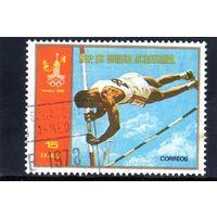 Экваториальная Гвинея.Спорт.Легкая атлетика.Олимпийские игры.Москва.1980