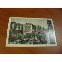 Почтовая карточка  КИЕВ. УЛИЦА КРАСНОАРМЕЙСКАЯ 1963 г