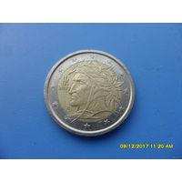 2 евро Италия 2002 год