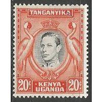 Кения Уганда и Танганьика. Король Георг VI. 1938г. Mi#60.