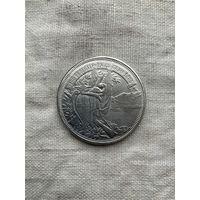 Швейцария 5 франков 1883 г., редкая