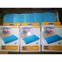 Надувная подушка Intex Fabric Camping, 43х28х9 см - 3 по одной цене!