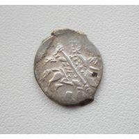 Копейка Бориса Годунова (1598-1605 года) Знак: НОРО м.д.Новгород ГК213 - Год чеканки: 1601, а блеске.