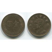 Тайвань. 1 доллар (2006)
