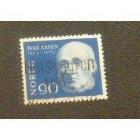 Норвежский филолог, лексикограф и поэт Ивар Аасен. Норвегия. Дата выпуска:1963-08-05